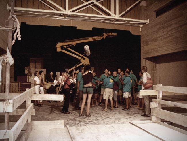 Rodatge Un teatre obert al cos Sant Lluis Menorca Teatre Albert Camus