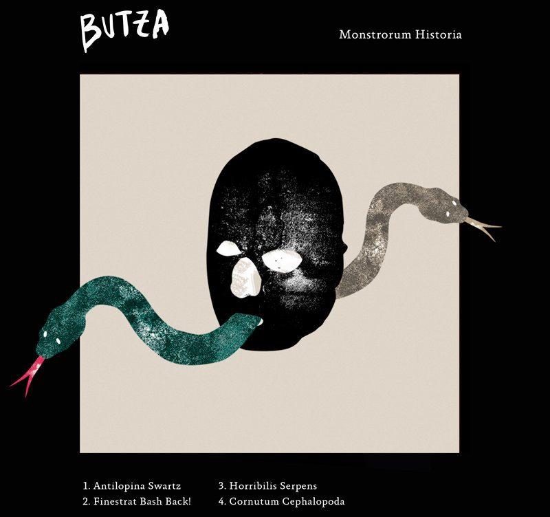 BUTZA portada EP Monstrorum Historia